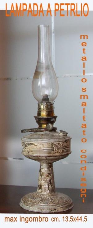 Copia di OGGETTI DA VENDERE vari 010 LAMPADA A PETROLIO copia