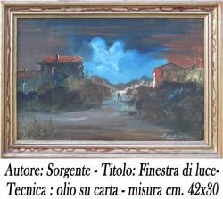 Sorgente Finestra di luce , 42x30 - 1-A A 4 copia