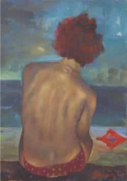 Copia di Prezioso-50x70- acrilico con sabbia su tela-2151- 029