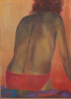 Copia di Prezioso- 50x70- acrilico con sabbia su tela-2153- 030