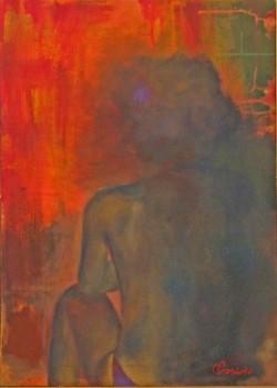 Copia di Prezioso-50x70-acrilico con sabbia su tela-2154- 031
