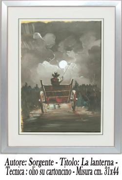 Sorgente, La lanterna , olio su cartoncino, 31x 44 , A A 4 copia